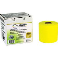 TheraBand Latex-Free Exercise Band - 50yd - Yellow/Thin