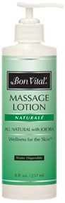 Bon Vital' Naturale Massage Lotion - 8oz