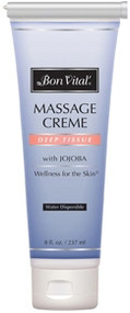 Bon Vital' Deep Tissue Massage Cream - 8oz