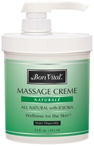 Bon Vital' Naturale Massage Cream - 14oz