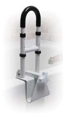Drive Medical Adjustable Height Clamp on Tub Rail