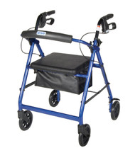 Drive Medical Aluminum Rollator with Fold Up and Removable Back Support DMR726?