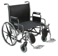 Drive Medical Sentra Heavy Duty Extra Wide Wheelchair