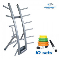 Element Fitness 10 Set Cardio Pump with Rack