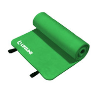"Lifeline Exercise Mat Pro -72""x23""x5/8""- Green"