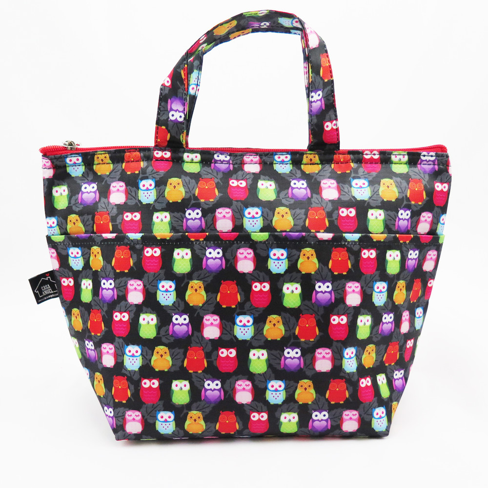 Ladies Lunch Bag - Owl Black $9 99