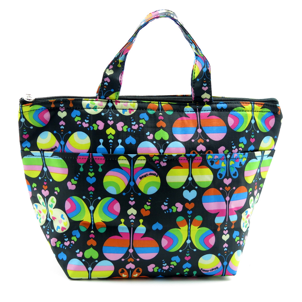 Ladies Lunch Bag - Rainbow Butterfly $9 99