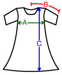 Cotton Dress Chart