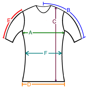 Cotton Clothing Size Chart