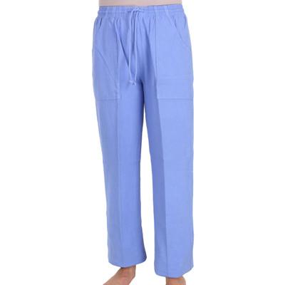 Cotton Hip Pocket Pant - Riviera