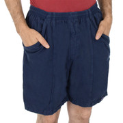 All-Cotton Beefy Sport Shorts - River