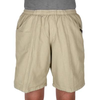 Easy Care 100% Cotton Longer Comfort Shorts - Khaki