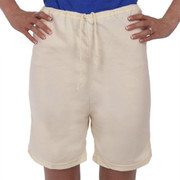 Shorts Drawstring 100% Organic Cotton NATURAL Hypoallergenic