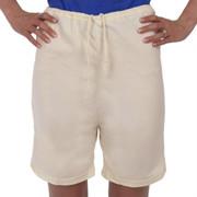 Shorts Drawstring 100% Organic Cotton NATURAL Hypoallergenic