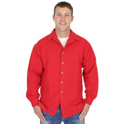 Canton Cotton Shirt AKA Big Easy GENDER NEUTRAL - Ruby Red