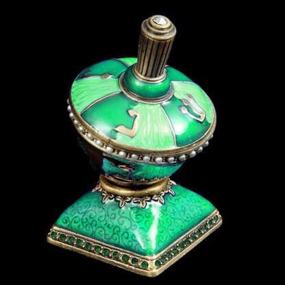 Jeweled & Enameled Dreidel