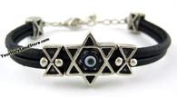 Evil Eye Protection Bracelet with Star of Magen David