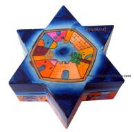 Jewish Shabbat Travel Candlesticks