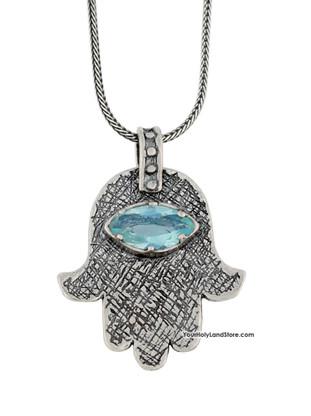 Hamsa Protection Hand Necklace