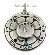 The Ten Sephiroth of the Kabbalah Pendant