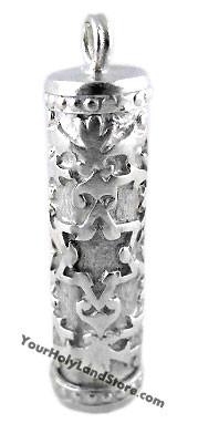 Unique Mezuzah Pendant with Star of David