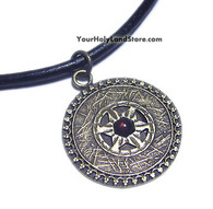Star of David Necklace with Names of God