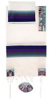 Embroidered Cotton Tallit