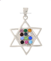Star of David and Hoshen Pendant