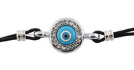 Light Blue Evil Eye Bracelet