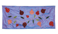Table Runner with Pomegranates