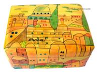 Hand Painted Jerusalem Jewelry Box