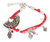 Kabbalah Bracelet with Charm