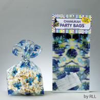 Chanukah Party Bags with Menorahs and Dreidels