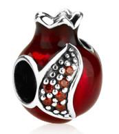 Pomegranate Charm Bead