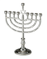 TRADITIONAL HANUKKAH MENORAH