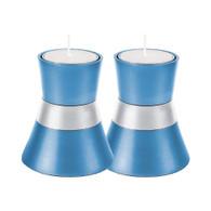 Anodized Aluminum Candlesticks