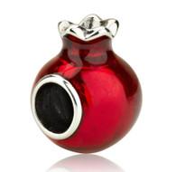 Pomegranate Bead Charm