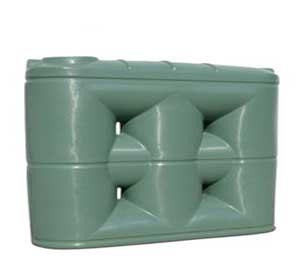 5000L Low Slimline Water Tank