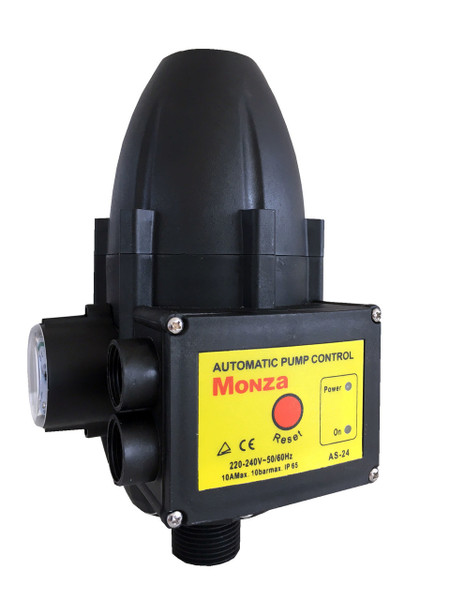 Monza AS-24 Pump Controller your local Sydney distributor of Monza Pumps and Accessories. Best quality pump controller, reliable pump controller for your water pump and rainwater tank.