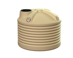 1000L Round Squat Water Tank buy now from your local supplier of poly rainwater tanks in Sydney and across NSW with delivery available.