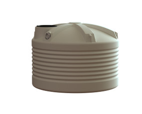 2500L Squat Water Tank buy from your local supplier of poly rainwater tanks in Sydney and across NSW with delivery available.