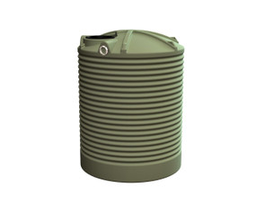 3500L Round Water Tank your local supplier of poly rainwater tanks in Sydney and across NSW with delivery available.
