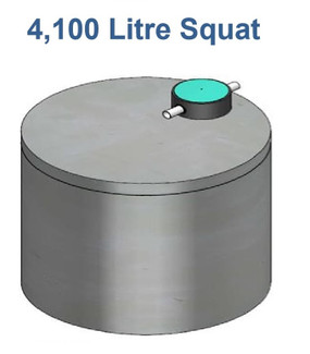 4100L Squat Concrete Water Tank