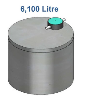 6100L Concrete Water Tank