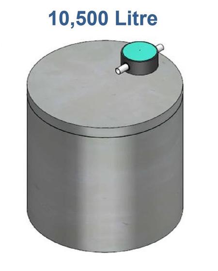 10500L Concrete Water Tank