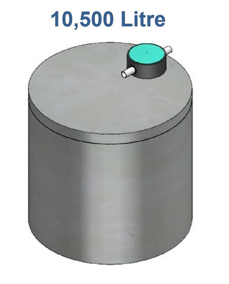 10500L Concrete Water Tank