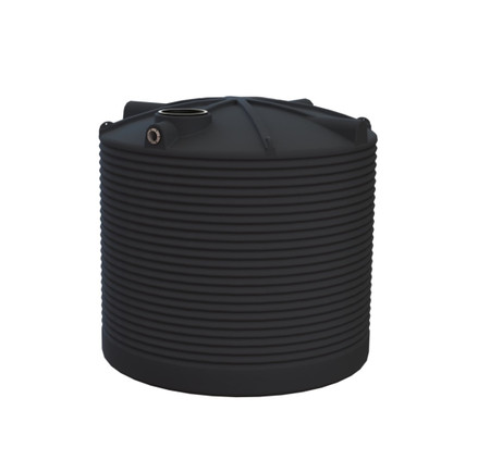 RP10000R  10,000 Corrugated Round Poly Tank