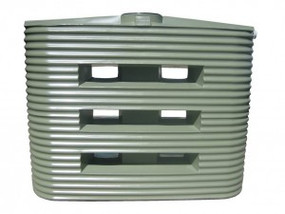 MS2000LC Corrugated Poly Slimline Water Tank buy now from your local supplier of poly rainwater tanks in Sydney and across NSW with delivery available.
