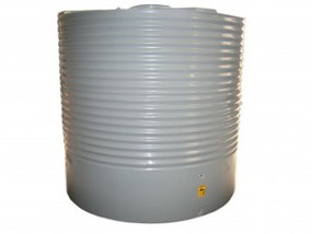 4500L Round Water Tank buy now from your local supplier of poly rainwater tanks in Sydney and across NSW with delivery available.