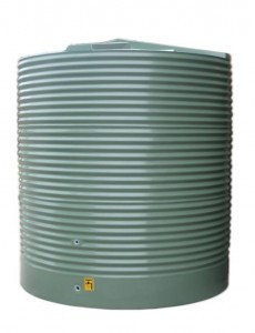 7000L Round Water Tank buy now from your local supplier of poly rainwater tanks in Sydney and across NSW with delivery available.
